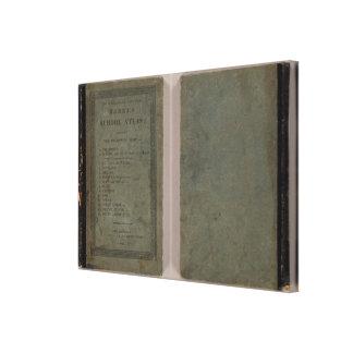 Atlas de la escuela de Carey Impresiones De Lienzo