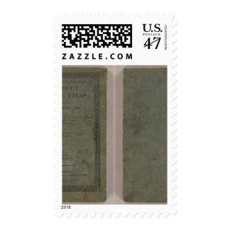 Atlas de la escuela de Carey Timbre Postal