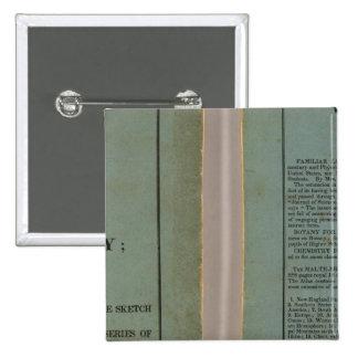 Atlas de la historia universal pin cuadrada 5 cm