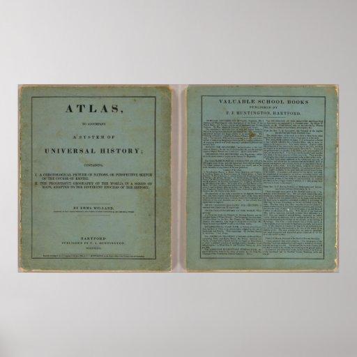 Atlas de la historia universal póster