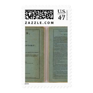 Atlas de la historia universal sello postal