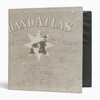 Atlas de la mano de la página de título de partes