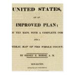 Atlas de la página de título de los Estados Unidos Postal