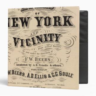 Atlas de la página de título de Nueva York, vecind