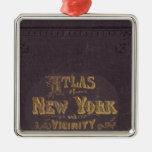 Atlas de la vecindad de Nueva York Adornos