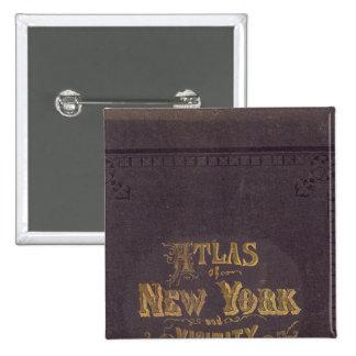 Atlas de la vecindad de Nueva York Pin