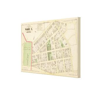 Atlas de los molinos del cementerio y de Elba de l Impresión De Lienzo