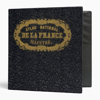 """Atlas De nacional Francia Carpeta 1 1/2"""""""