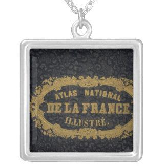 Atlas De nacional Francia Colgante Cuadrado
