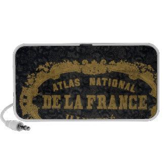 Atlas De nacional Francia iPhone Altavoz