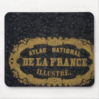 Atlas De nacional Francia Mouse Pads
