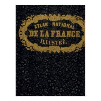 Atlas De nacional Francia Postal