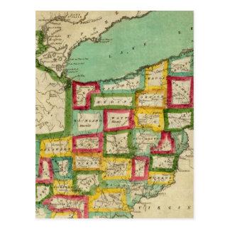 Atlas de Ohio Postales
