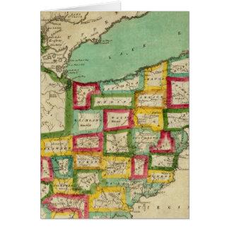 Atlas de Ohio Felicitaciones