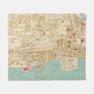 Atlas de Yonkers Manta De Forro Polar