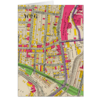 Atlas de Yonkers Nueva York Tarjeta De Felicitación