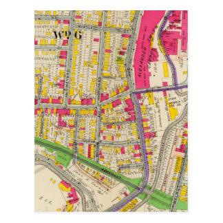 Atlas de Yonkers Nueva York Tarjetas Postales