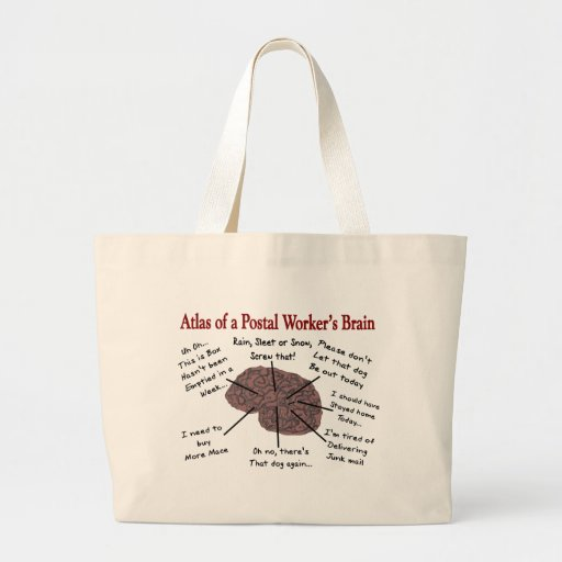 Atlas del cerebro de un empleado de correos bolsa