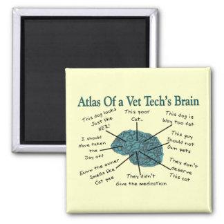 Atlas del cerebro de una tecnología del veterinari iman
