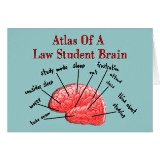 Atlas del cerebro del estudiante de Derecho Felicitaciones