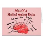 Atlas del cerebro del estudiante de medicina tarjeta