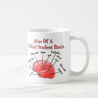 Atlas del cerebro del estudiante de medicina taza clásica