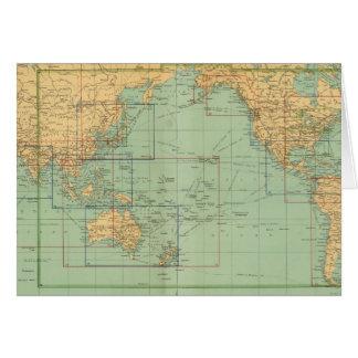 Atlas del infante de marina mercantil del mapa de  tarjetas