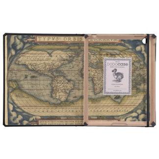 Atlas del mapa del mundo del vintage histórico