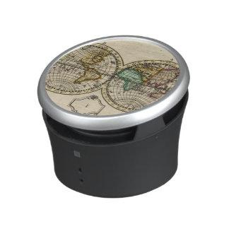 Atlas del mundo altavoz con bluetooth