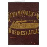 Atlas del negocio tarjeta de felicitación