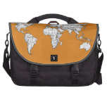 Atlas en naranja bolsas para portátil