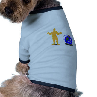 Atlas encogido camisa de perrito