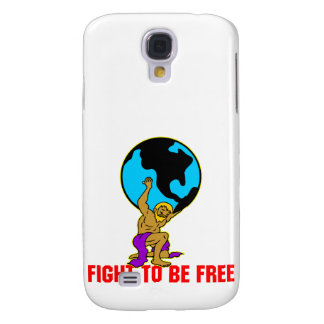 Atlas Fight To Be Free Galaxy S4 Cover