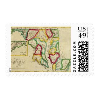 Atlas general de Maryland Sello