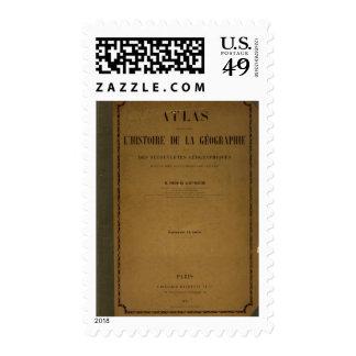 Atlas histórico 2 sello postal