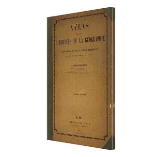 Atlas histórico lona estirada galerias