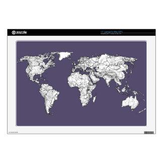 """Atlas in dark lilac skins for 17"""" laptops"""