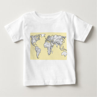 Atlas in ivory cream baby T-Shirt