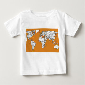 Atlas in orange baby T-Shirt