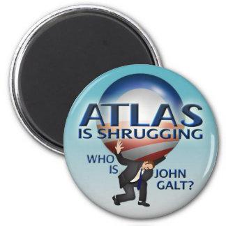 Atlas Is Shrugging Magnet