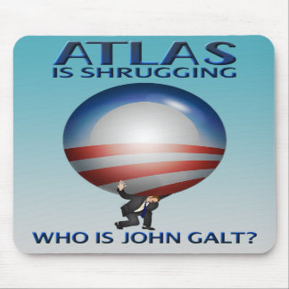 Atlas Is Shrugging Mousepad