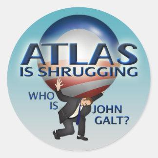 Atlas Is Shrugging Stickers