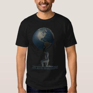 Atlas Is Shrugging T-shirts