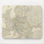 Atlas Map of Europe Mouse Pad