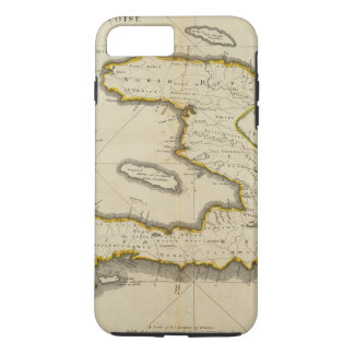 Atlas Map of Haiti iPhone 7 Plus Case