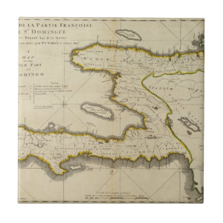 Atlas Map of Haiti Tile