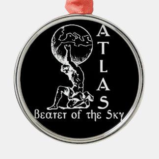 Atlas Metal Ornament