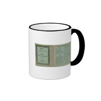 Atlas moderno taza de café