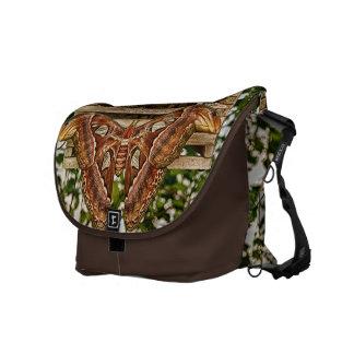 Atlas Moth Messenger Bag