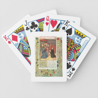 Atlas Ms Fr.2679 f.377 Jacques Coeur (c.1395-1456) Bicycle Playing Cards